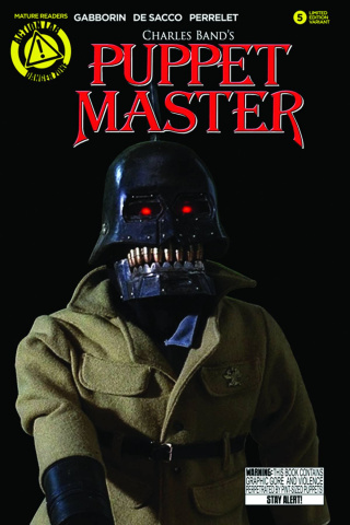Puppet Master #5 (Torch Photo Cover)