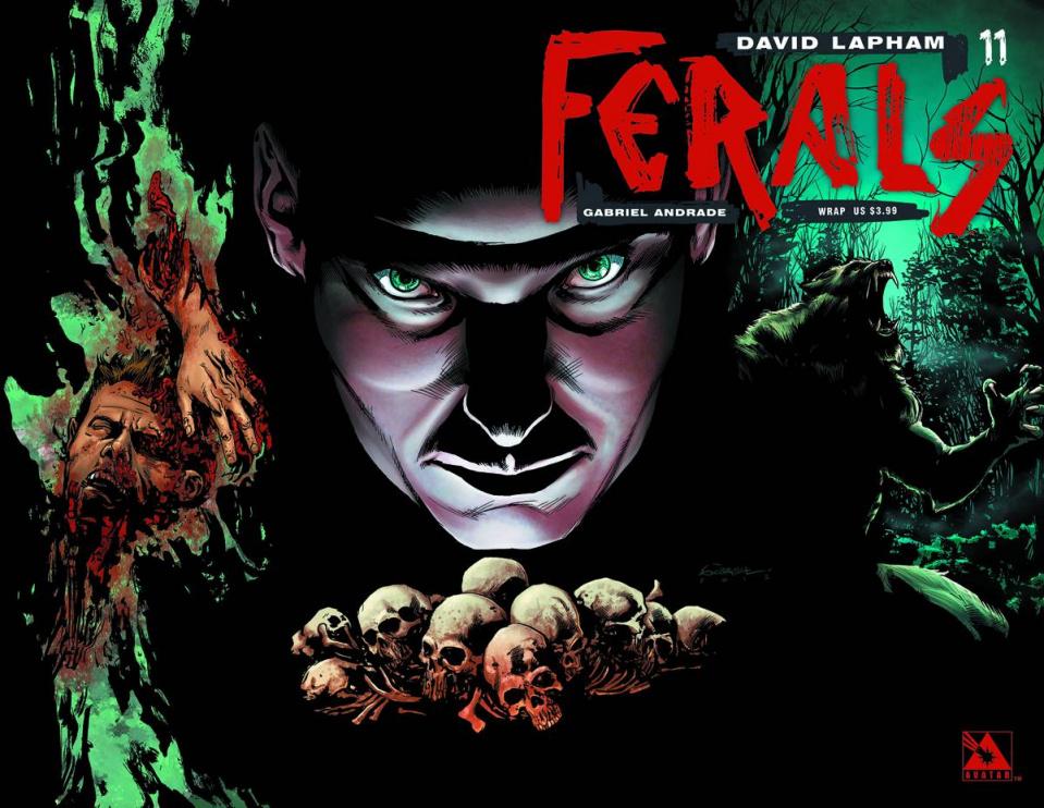 Ferals #11 (Wrap Cover)