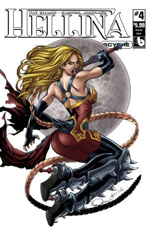 Hellina: Scythe #4 (Enforcer Cover)