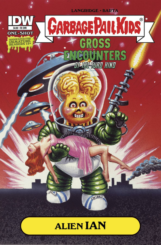 Garbage Pail Kids: Gross Encounters of the Turd Kind (10 Copy Cover)
