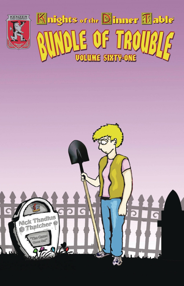 Knights of the Dinner Table: Bundle of Trouble Vol. 61