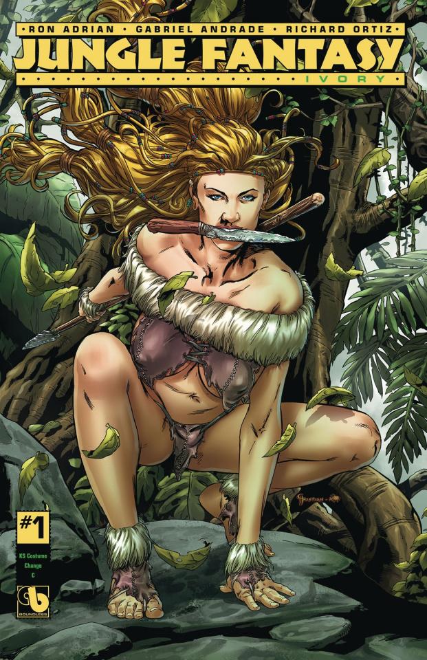 Jungle Fantasy: Ivory #1 (Costume Change Cover)