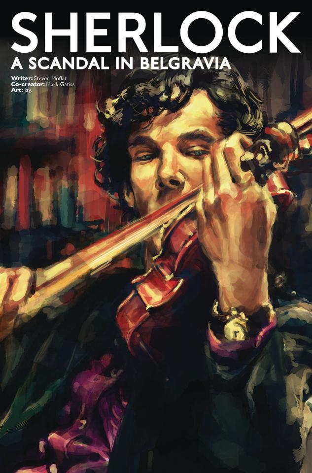 Sherlock: A Scandal in Belgravia #5 (Zhang Cover)