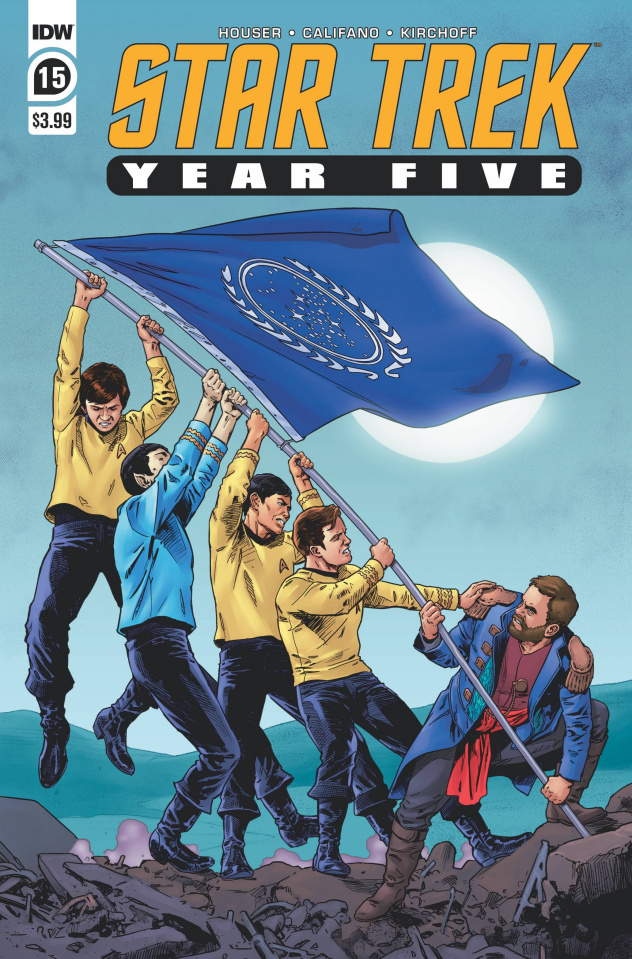 Star Trek: Year Five #15 (Thompson Cover)