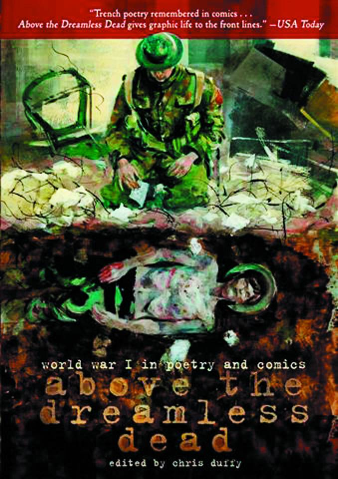 Above the Dreamless Dead: WWI in Poetry and Comics