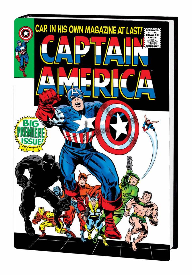 Captain America Vol. 1 (Omnibus)