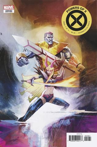 Powers of X #3 (Huddleston Cover)