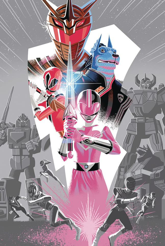 Mighty Morphin' Power Rangers 2018 Annual #1 (2nd Printing)