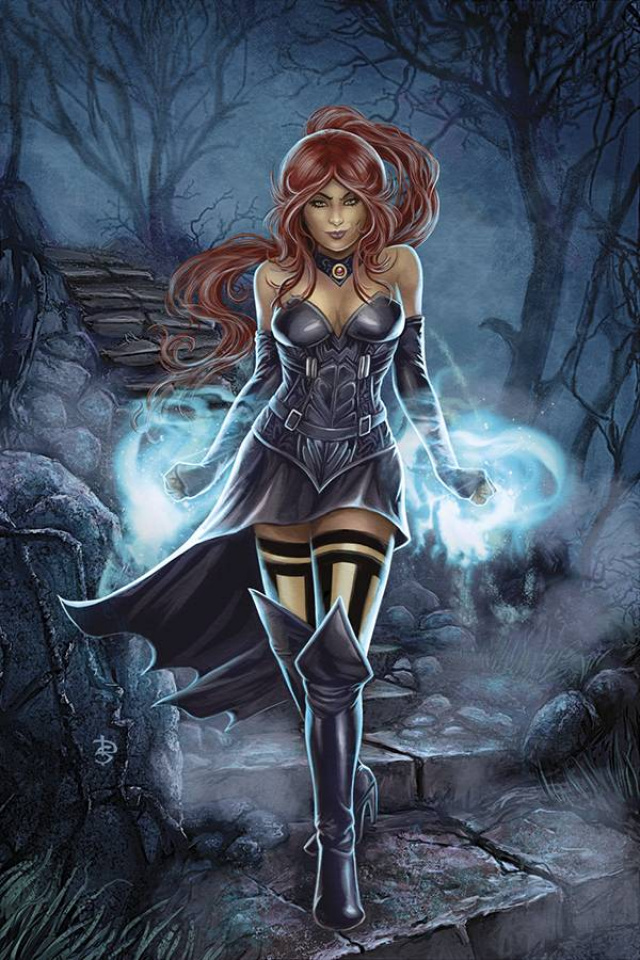 Grimm Fairy Tales: The Coven #5 (Sirois Cover)