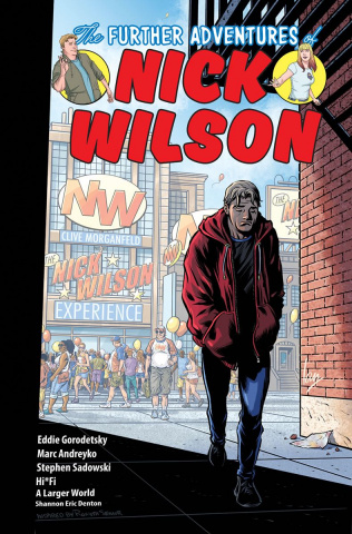The Further Adventures of Nick Wilson #5 (Churchill Cover)