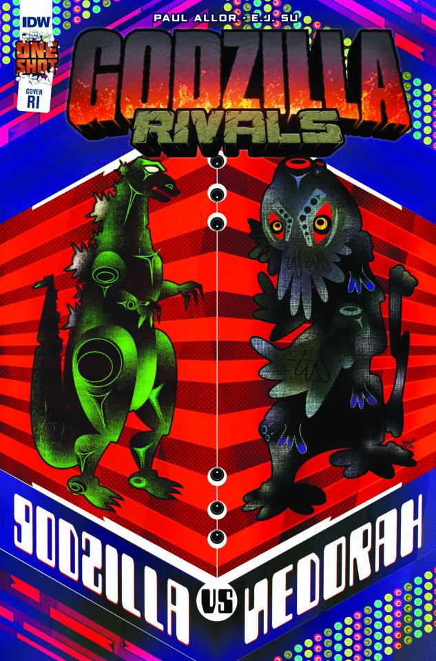 Godzilla Rivals: Godzilla vs. Hedorah (10 Copy Veregge Cover)