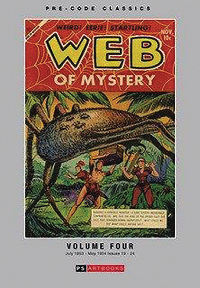 Web of Mystery Vol. 4