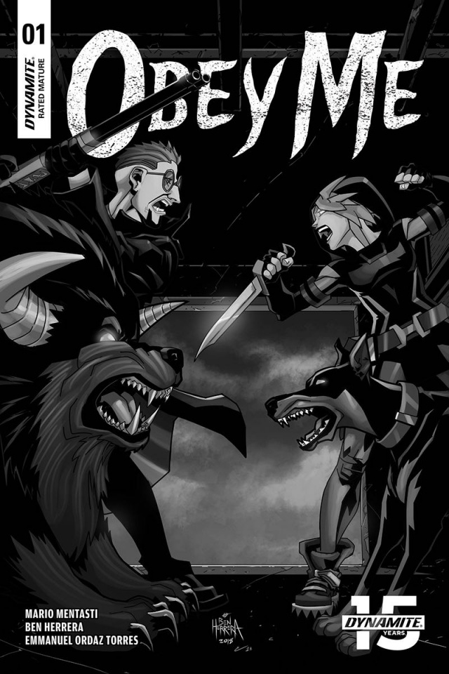Obey Me #1 (10 Copy Herrera B&W Cover)