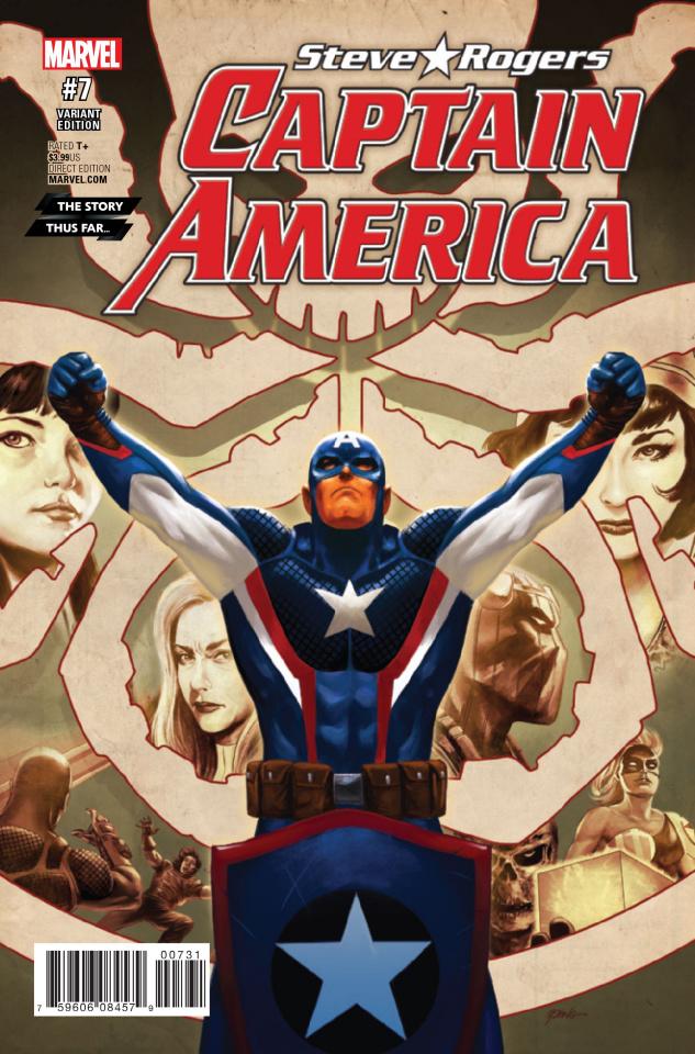 Captain America: Steve Rogers #7 (Epting Story Thus Far Cover)