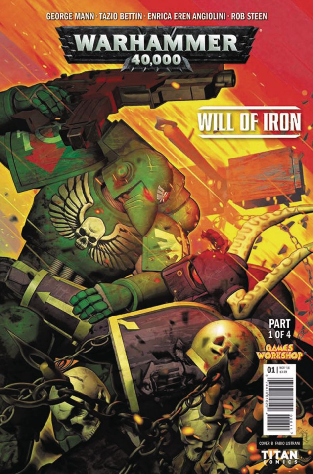 Warhammer 40,000: Will of Iron #1 (Listrani Cover)