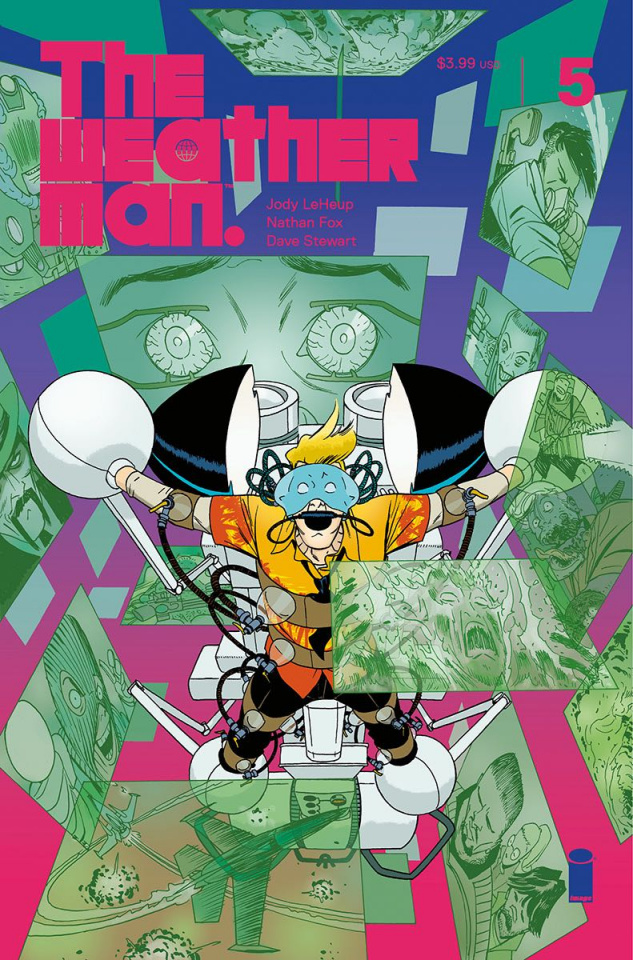 The Weatherman #5 (Martin Cover)