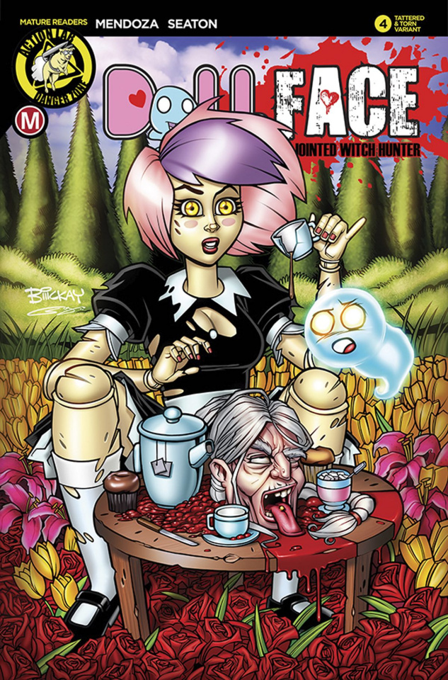 Dollface #4 (McKay Tattered & Torn Cover)