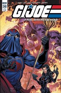 G.I. Joe: A Real American Hero #240 (Subscription Cover)