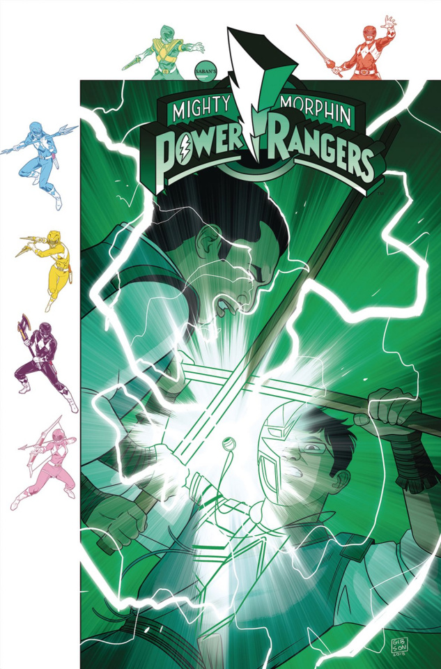 Mighty Morphin' Power Rangers #32 (Subscription Gibson Cover)