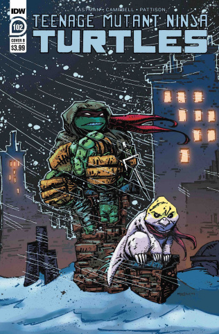 Teenage Mutant Ninja Turtles #102 (Eastman Cover)