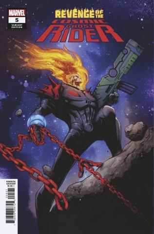 Revenge of the Cosmic Ghost Rider #5 (Garbett Cover)