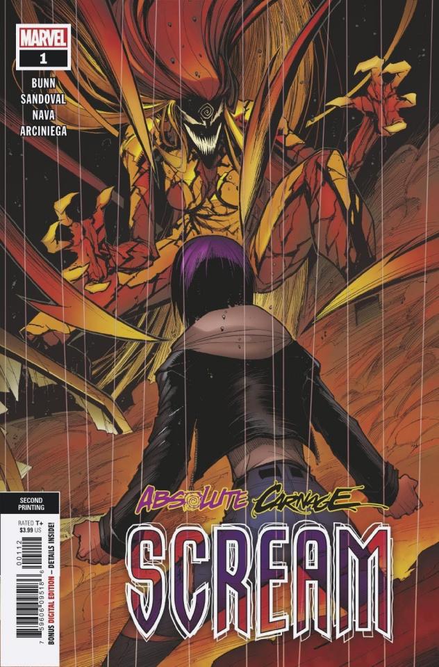 Absolute Carnage: Scream #1 (Sandoval 2nd Printing)