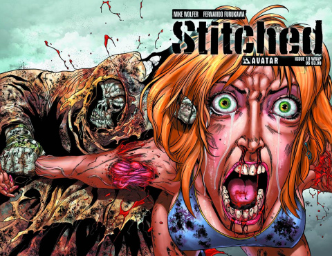 Stitched #10 (Wrap Cover)