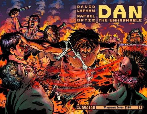 Dan the Unharmable #6 (Wrap Cover)