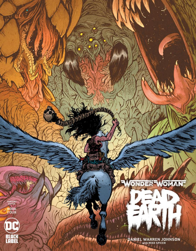 Wonder Woman: Dead Earth #4 (Daniel Warren Johnson Cover)