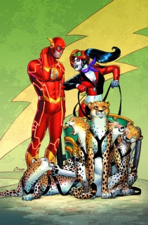 The Flash #39 (Harley Quinn Cover)