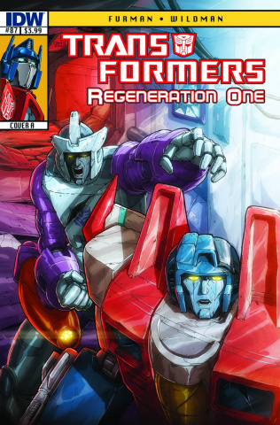 The Transformers: Regeneration One #87