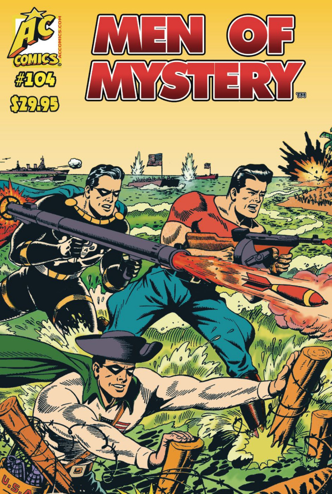 Men of Mystery #104