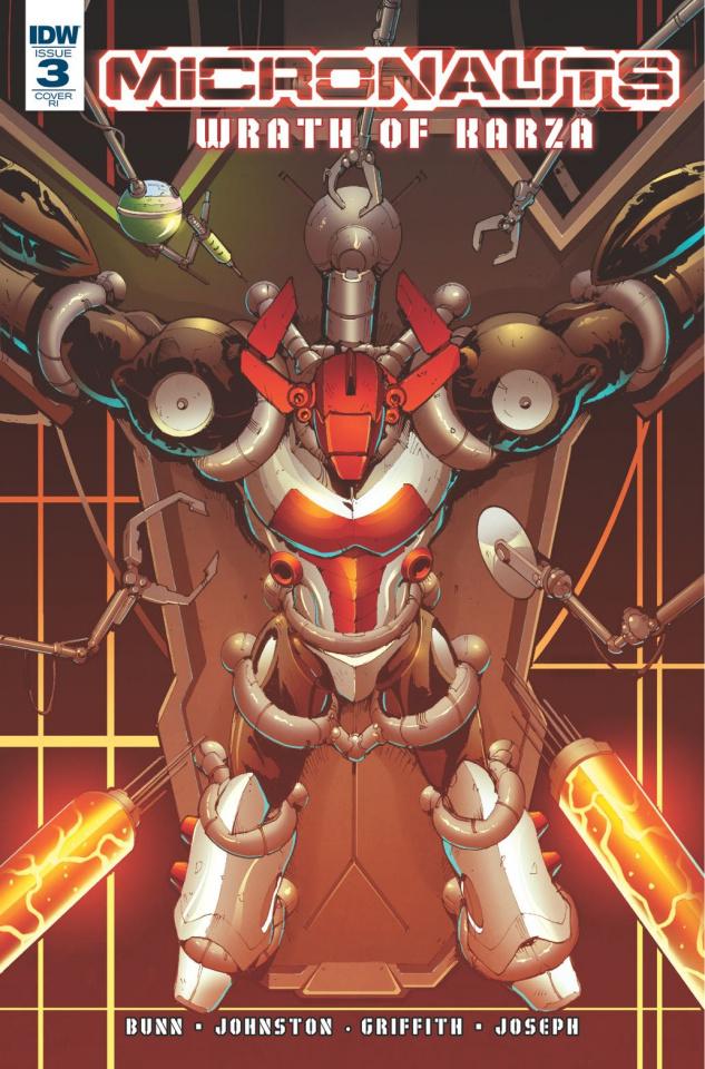 Micronauts: Wrath of Karza #3 (10 Copy Cover)