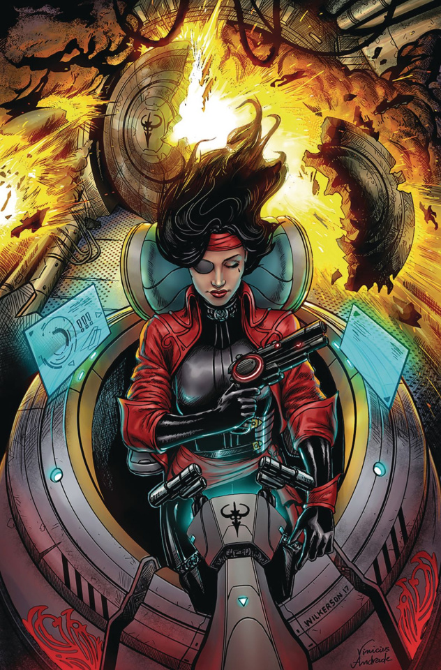Black Sable #6 (Wilkerson Cover)