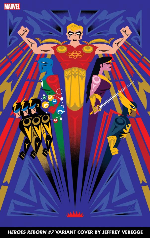 Heroes Reborn #7 (Veregge Cover)