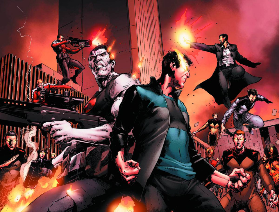 Harbinger Wars #4 (Pullbox Cover)