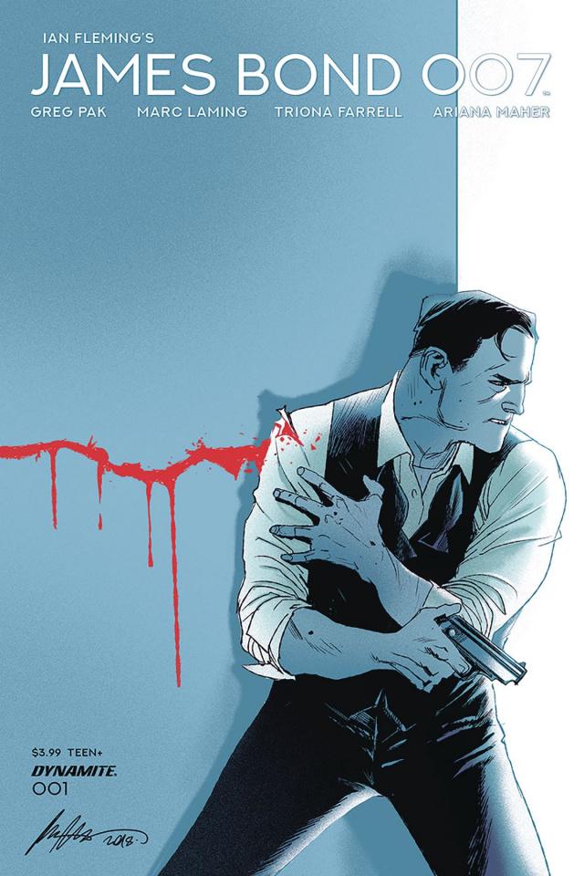 James Bond: 007 #1 (Albuquerque Cover)
