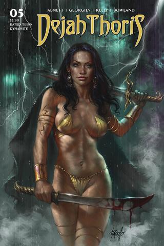 Dejah Thoris #5 (Parrillo Cover)