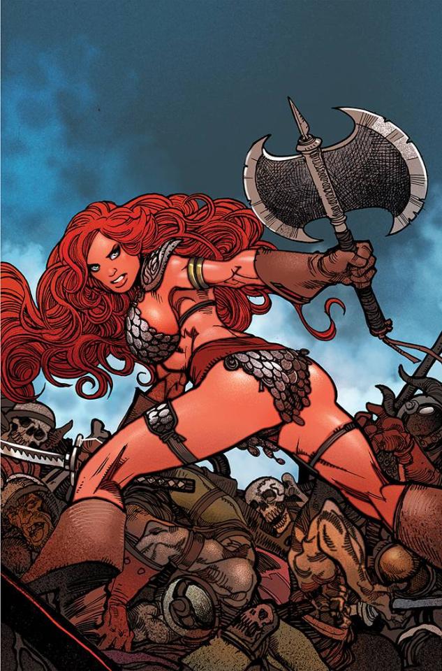 The Invincible Red Sonja #3 (11 Copy Moritat Virgin Cover)