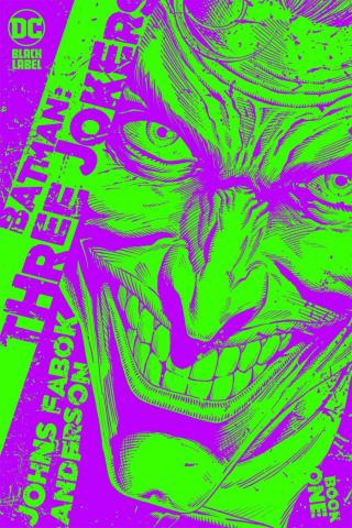 Batman: Three Jokers #1 (1:25 Jason Fabok Green Cover)
