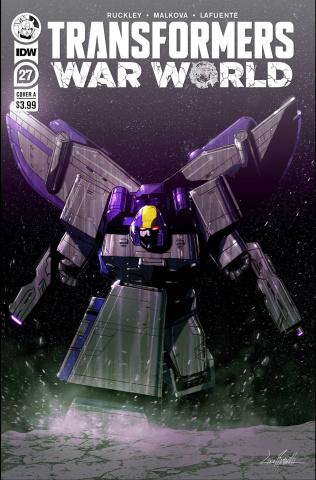 The Transformers #27 (Livio Ramondelli Cover)