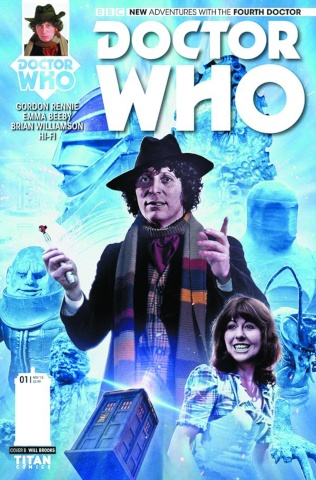 Doctor Who: New Adventures with the Fourth Doctor #1 (Photo Cover)