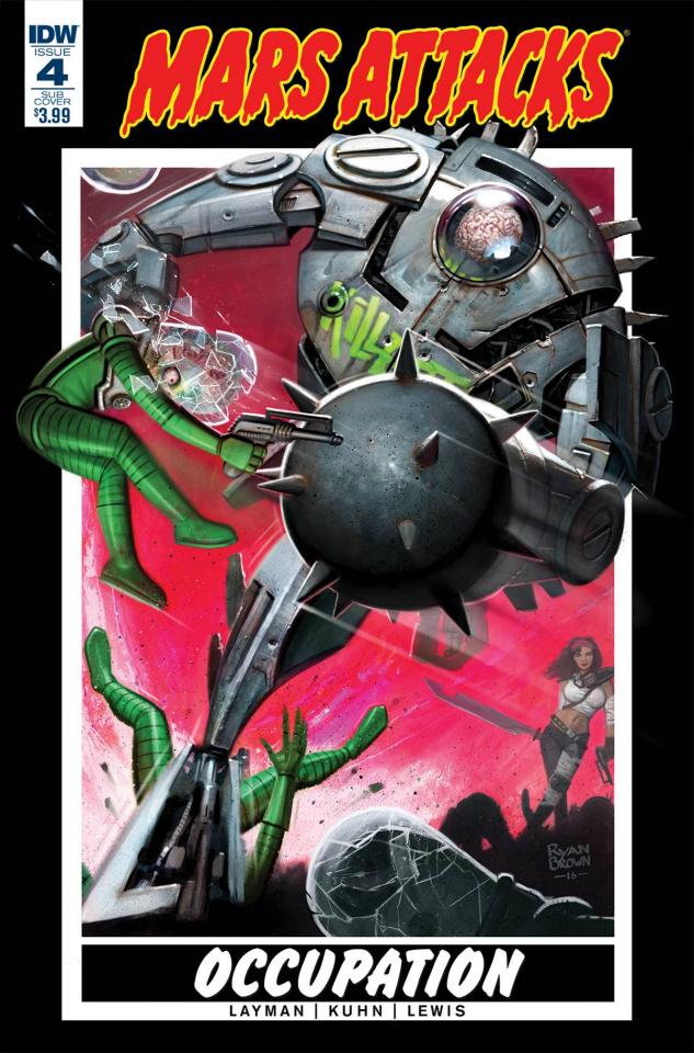 Mars Attacks: Occupation #4 (Subscription Cover)