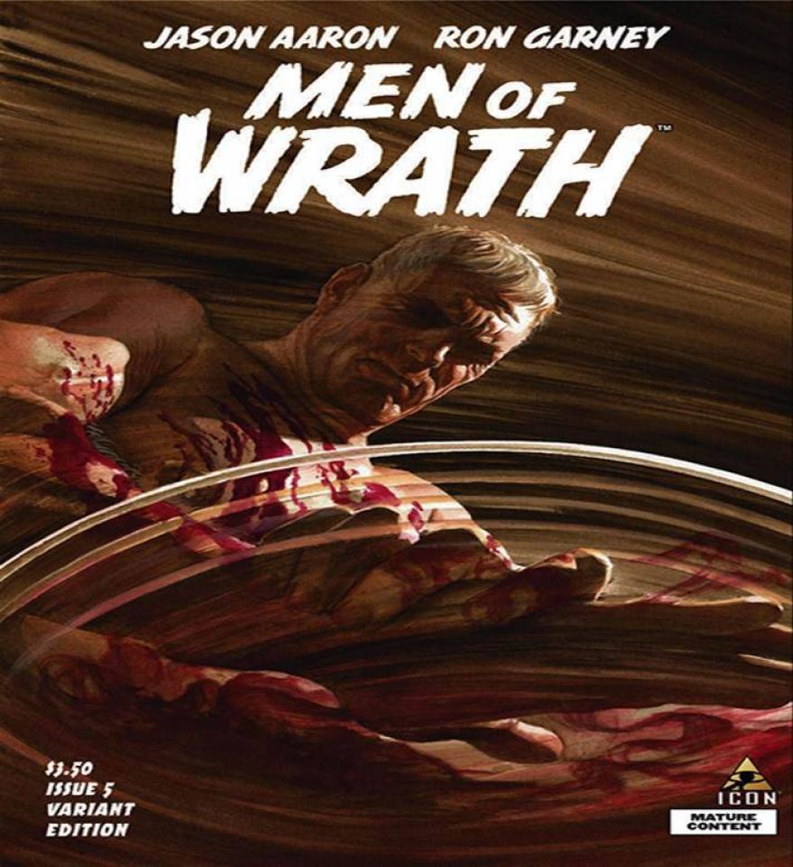 Men of Wrath #5 (Ross Cover)