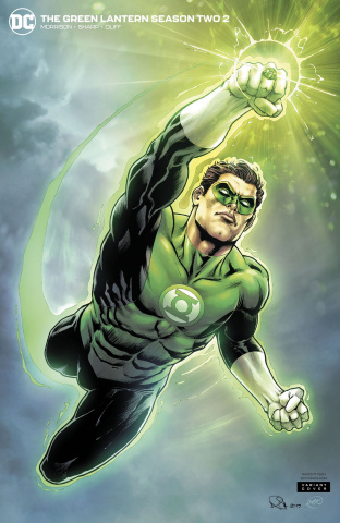Green Lantern, Season 2 #2 (Nicola Scott Cover)