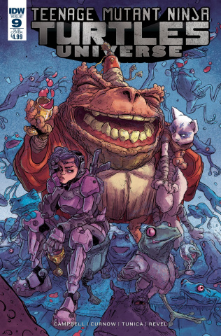 Teenage Mutant Ninja Turtles Universe #9 (Subscription Cover)