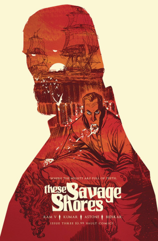 These Savage Shores #3 (2nd Printing)