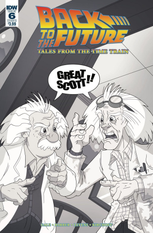 Back to the Future: Tales from the Time Train #6 (Murphy Cover)