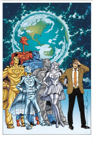 Metal Men #5 (Walter Simonson Cover)