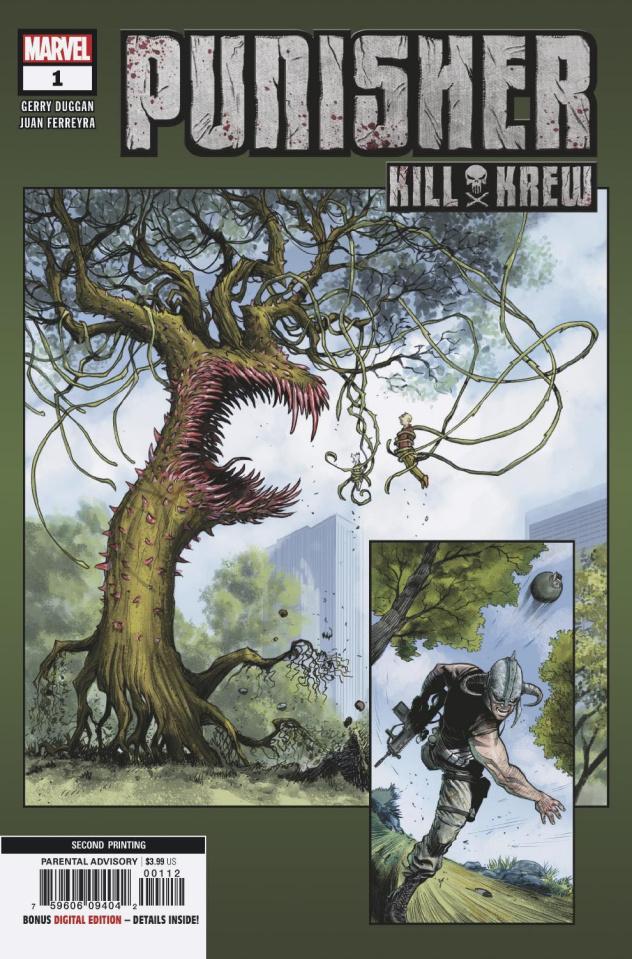 The Punisher: Kill Krew #1 (Ferreyra 2nd Printing)
